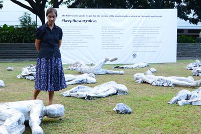 BBDO Guerrero recreates Philippines massacre site to fight apathy