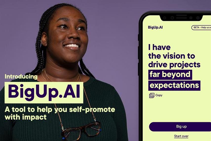BigUp.AI: uses natural language processing and machine learning