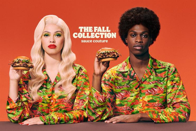 Burger King launches tasty, garnish-printed shirt with new work by BBH