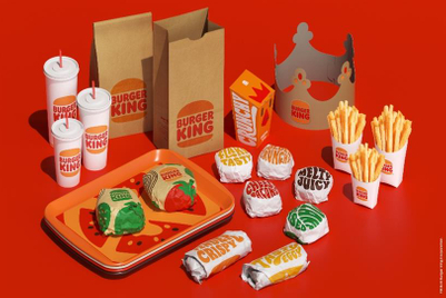 Burger King unveils first rebrand in more than 20 years