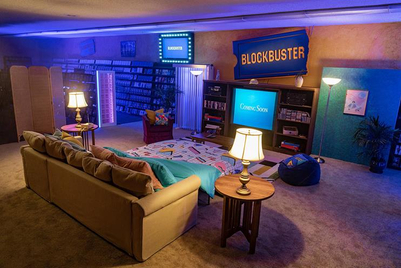 Airbnb offers movie fans chance to stay in the last Blockbuster store on Earth