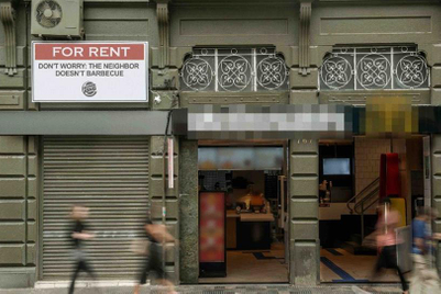 Burger King puts 'For Rent' signs to work in new campaign
