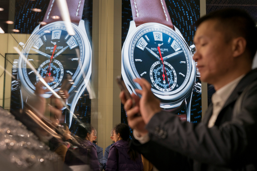 Baselworld has seen attendance shrink dramatically in recent years (photo: AFP)