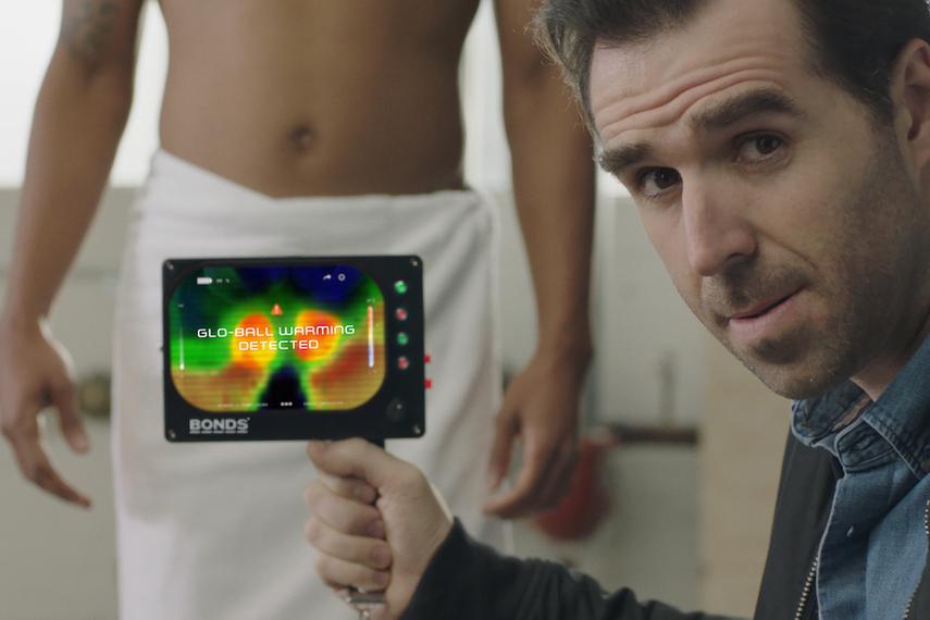 Bonds' latest effort to promote new men's undies is another silly, innuendo-laden winner.