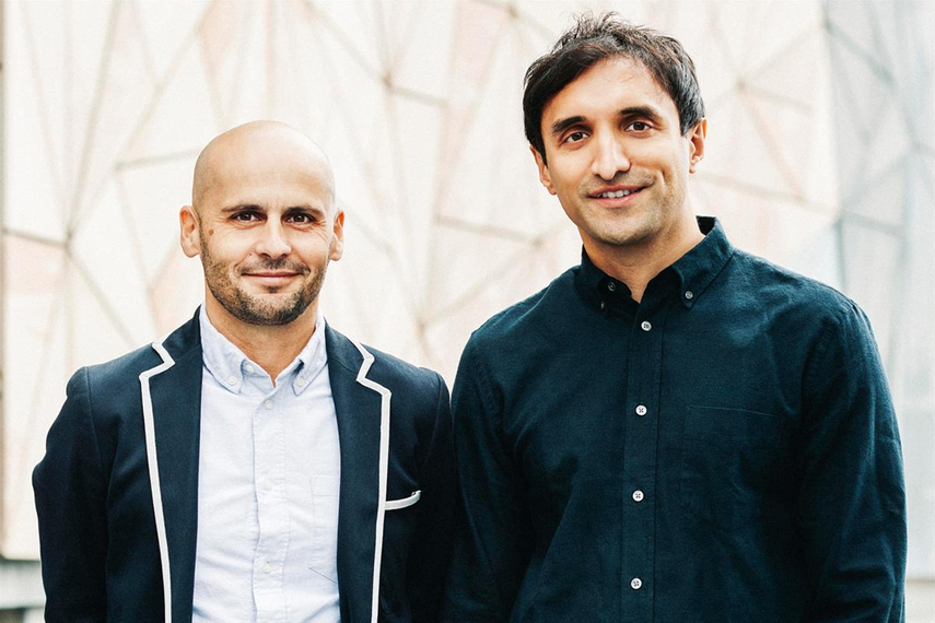 From left: Brian Vella, APAC managing partner for AKQA, and Ajaz Ahmed, AKQA CEO