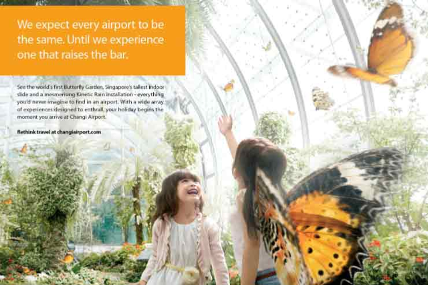 Changi Airport promotes ancillary activities in new campaign