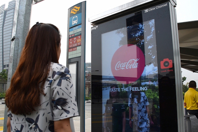 Coca-Cola and PepsiCo vie for commuter attention in Singapore