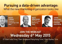 What the new data-driven organisation looks like: Webinar highlights