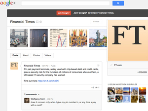 CASE STUDY: How the Financial Times is engaging Google+ users