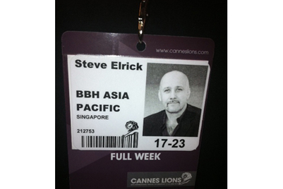 Direct from Cannes: Steve Elrick, BBH