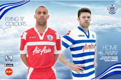 Air Asia ramps up Queens Park Rangers sponsorship