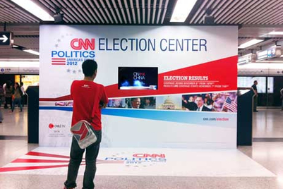 CNN campaign showcases impact of US Election on APAC