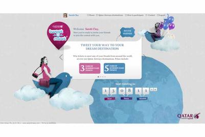 Qatar Airways, Batey Singapore launch global Twitter race