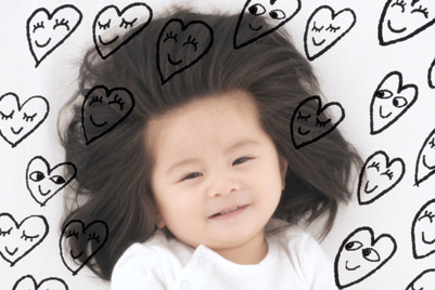 Pantene uses a big-hair baby to celebrate individualism
