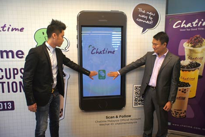 WeChat partners with Chatime to offer rewards worth over US$1.8 million