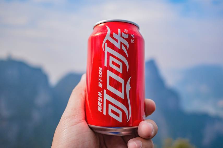 Coca Cola in Mandarin (可口可乐 or 'ke kou ke le') means 'delicious happiness'