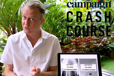 Campaign Crash Course: How to conduct effective market research