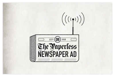 2019 Cannes contenders: 'Paperless Newspaper Ad' by Colenso BBDO
