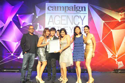 DDB wins big in SEA at 2011 Agency of the Year Awards
