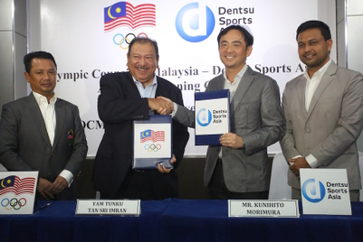 Dentsu Sports Asia ties up with Olympic Council of Malaysia