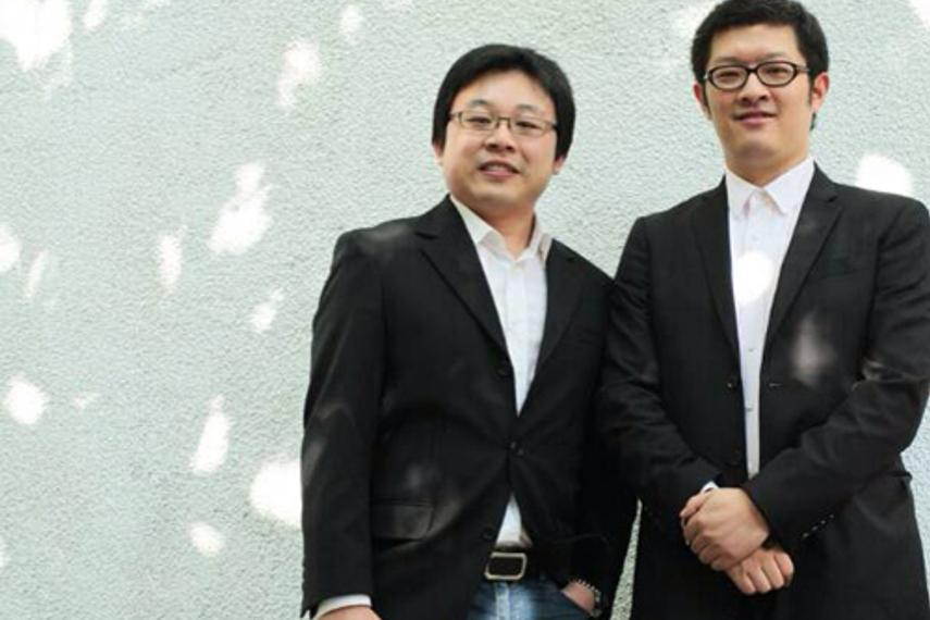 Wong Kian-fong (L) Alpha Xu (R)