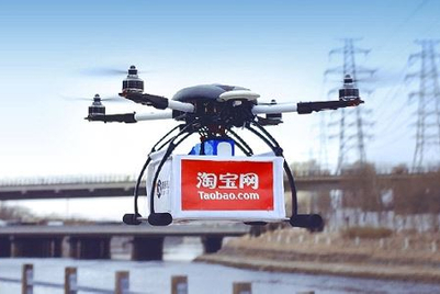 Drones take off in Taobao air freight test