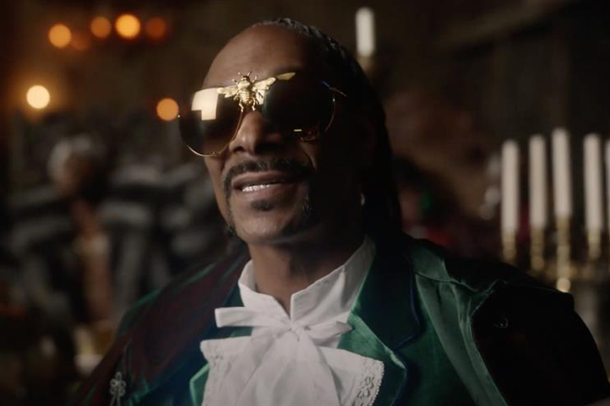 Just Eat: brand previously worked with Snoop Dogg