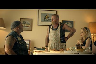 Meat & Livestock Australia turns burly biker into chef mum