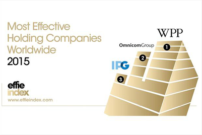 WPP tops Effie Index for fourth year in a row