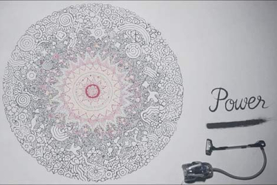 Electrolux sparks imagination with vacuum-cleaner art