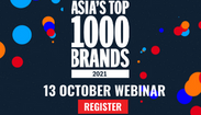 Asia's Top 1000 Brands webinar 2021