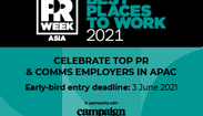 Best Places To Work Asia 2021