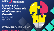 Webinar: Meeting the Creative Demands of eCommerce Growth