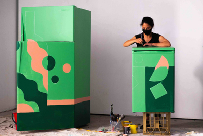 These old fridges get a cool new makeover