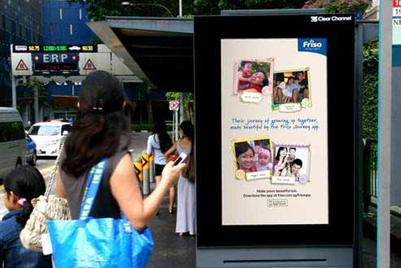 Friso launches digital out-of-home campaign; integrates social media