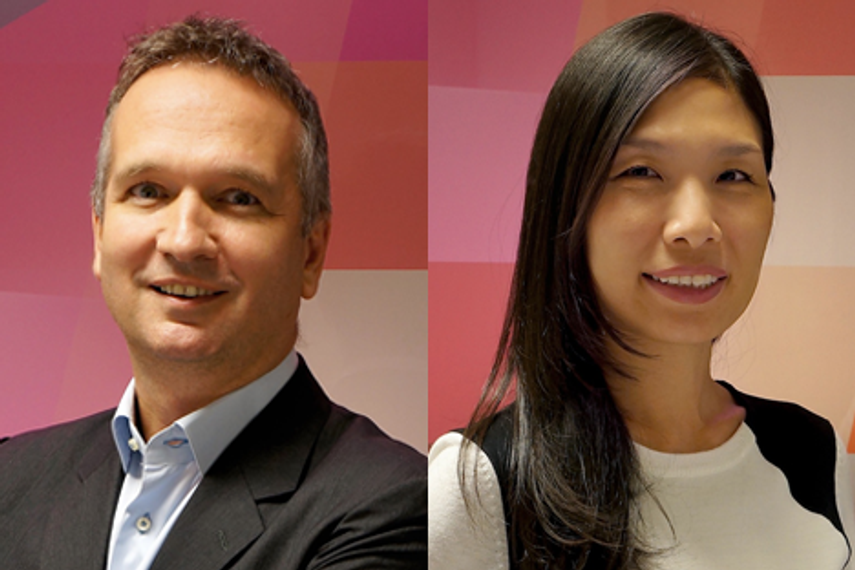 Harrington (left) and Kim's appointments reflect Hong Kong's readiness to move towards more strategic branding