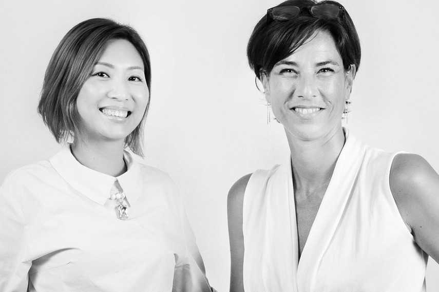 (L-R) ChowPo Kong and Anne Vanlaeys