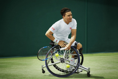 Uniqlo aligns with top wheelchair tennis player