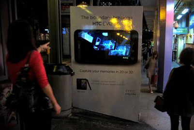 Clear Channel and HTC bring 3D advertising to Singapore's bus stops