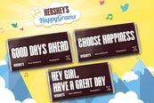 Hershey's introduces customised (digital) Hershey's bars in Philippines
