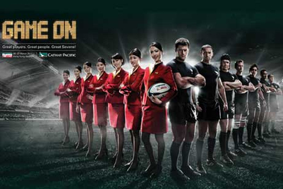 Cathay Pacific tackles the HK Rugby Sevens in campaign