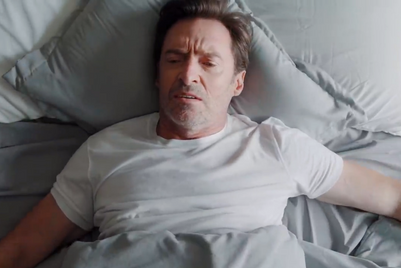 You wouldn't like Hugh Jackman before he has his coffee