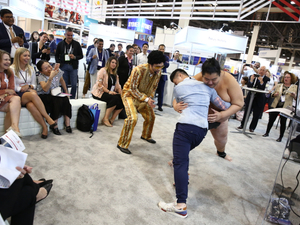 Experiential marketing reaches exhibitions