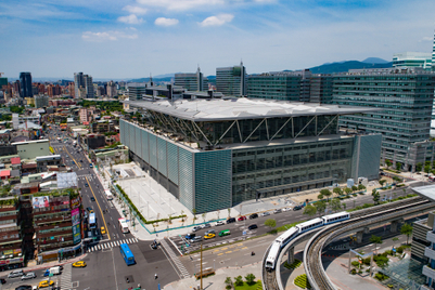 Taipei Nangang Exhibition Center debuts second hall