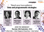 Free webcast: Reach your true audience with data and programmatic strategies