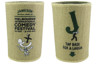 Jameson brings laughter to drinkers with 'connected stubby holder'