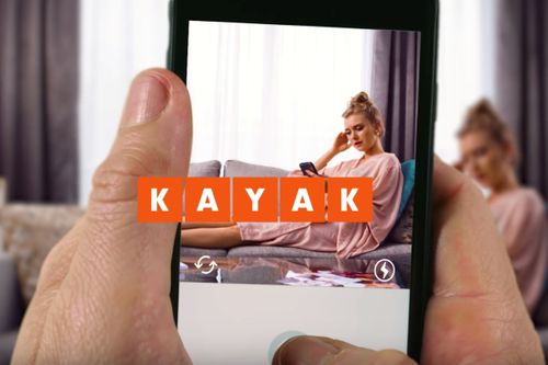 Kayak campaign proves brevity is the soul of wit