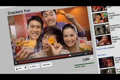 KFC Singapore launches youth-targeted campaign for its new Snackers