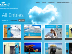 KLM launches love-themed microsite on Valentine's Day