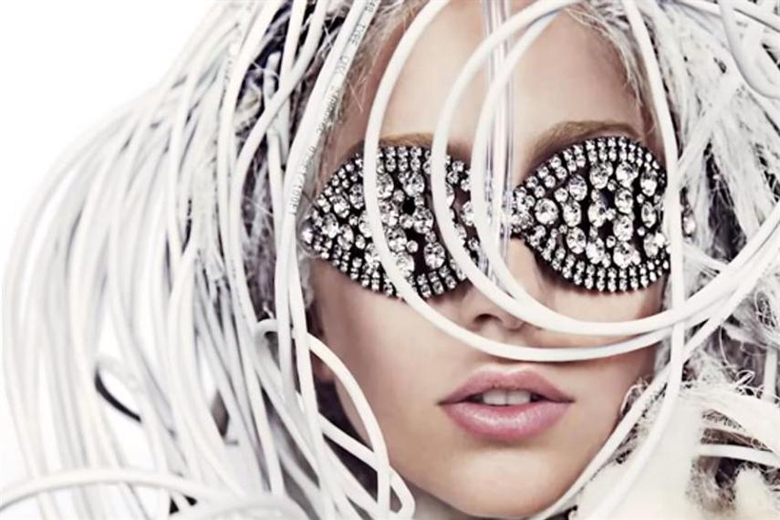 Lady Gaga from #AbsolutGaga campaign